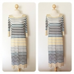 Colorful Stripes Maxi Dress