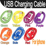 USB Cable for iPhone คละสี