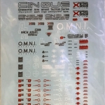 decals PG GTA X105 Aile Strike Gundam
