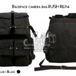 Backpack camera bag RUSH R6714