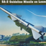 1/35 SA-2 Guideline Missile on Launcher [Trumpeter]