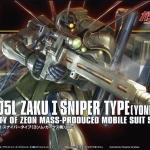 Zaku I Sniper Type (Yonem Kirks Custom) [HGUC]
