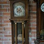 นาฬิกา3ลานjunghans 5ฆ้อนรหัส1659wc2