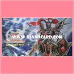 "Yu-Gi-Oh! ARC-V Playmat / Duel Field - Yu-Gi-Oh! Open Tournament Hong Kong (YOTHK) 2015 : ""Black Luster Soldier - Super Soldier"""
