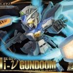 Non Scale SD RX-93-2 Hi-V Gundoom / Gundam