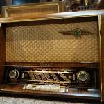 วิทยุหลอด loewe opta venus ปี 1953 รหัส25857tr2