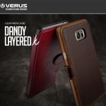 Verus : Dandy Layered K Leather Case Cover For Galaxy A7 (2016)