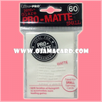 Ultra•Pro Pro-Matte Small Deck Protector / Sleeve - White 60ct.