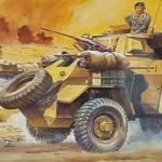 1/72 Armoured Car Humber MK.II [Hasegawa]