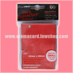 Ultra•Pro Small Deck Protector / Sleeve - Red 60ct.