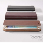 ZENUS : Toscana Diary Leather Cover Case For Samsung Galaxy S6 Edge