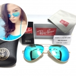 RB 3025 AVIATOR LARGE METAL 112/19 58-14 3N < ปรอทฟ้า >