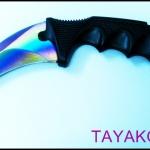 มีดคารัมบิตเรนโบว์อีเกิ้ลคลอ( Eagle Claw ) Rainbow Eagle Claw Karambit Knife TKKB-BS7779