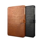 Zenus : Minimal Diary Original Saffiano Leather Cover Case for Samsung Galaxy Note 10.1 (2014 Edition)