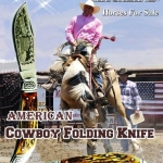 มีดพับ American Cowboy Folding Knife
