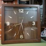 นาฬิกาควอทซ์เรือนไม้ รหัส26957wc
