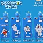 (462-021)เคสมือถือไอโฟน case iphone 6Plus/6S Plus เคสนิ่มโดเรมอน 3D
