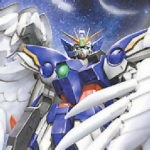 MG (028) 1/100 Wing Gundam Zero Custom / Wing Fighter Zero
