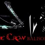 มีดควงเดอะโครว์อีกาดำ The Crow Balisong Knife