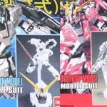 Pack คู่ HGUC 1/144 Unicorn Mode(ฐาน+ปืน) + Destroy Mode(ฐาน+ปืน)