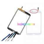 เปลี่ยนซ่อมกระจกหน้าจอแตก Samsung Tab3(8.0) แบบเปลี่ยนเอง