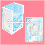 Yu-Gi-Oh! ARC-V OCG Duel Monsters Duelist Card Case + Duelist Card Protector / Sleeve - KC 80ct.