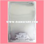 Yu-Gi-Oh! ZEXAL OCG Duelist Card Protector / Sleeve - Silver Frame 100ct. 98%