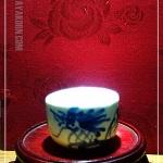 ถ้วยชาจีน ลายมังกรสยบมาร Hand made ทั้งปั้นและเขียนลาย