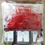Action Base 1/100 [Clear Glister Red]