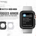 Spigen : Rugged Armor Ultimate Protection form DropsFor Apple Watch (38mm) & (42mm)