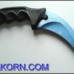 มีดคารัมบิตบลูซีสตอร์ม BlueSeaStorm Karambit Knife ( BLUE SEA )