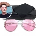 แว่นกันแดดแฟชั่น Silver Frame Pink Sheet 2020 49-22 140 <ชมพู>