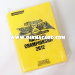 Yu-Gi-Oh! ZEXAL OCG Duelist Card Protector / Sleeve - National Championship 2012 x100