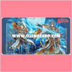 VG Fighter's Rubber Play Mat Collection Vol.10 : Oath Liberator, Aglovale & Bluish Flame Liberator, Percival