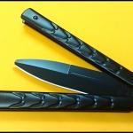 มีดซ้อมควง บาลีซองดราก้อนสกิน Dragon Skin Balisong Trainer Knife