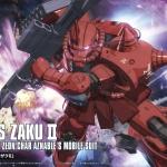 Char Aznable`s Custom Zaku II (THE ORIGIN) (HG)
