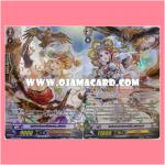 MS02/021TH : แม่มดนกอินทรีย์, เฟนเนล (Witch of Eagles, Fennel) + MS02/022TH : แม่มดนกอินทรีย์ทอง, จัสมิน (Witch of Golden Eagles, Jasmine) - แบบโฮโลแกรมฟอยล์ ฟูลอาร์ท ไร้กรอบ (Full Art)