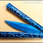 มีดควงมูซาชิบาลิซอง Musashi Balisong Knife