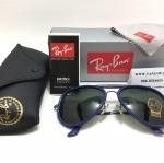 แว่นกันแดด RB 3428 Aviator Outdoor Road Spirit 004 58-14-135 <น้ำเงิน>