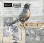 กระดาษแนปกิ้น เดคูพาจ Bird 21374