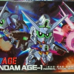 SD Gundam AGE-1 [Normal-Titus-Spallow]