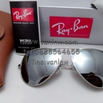 RB 3025 AVIATOR LARGE METAL W3277 58-14 3N