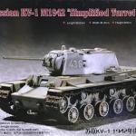 "1/72 Russian KV-1 M1942 ""Simplified Turret"" Tank [Trumpeter]"