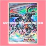 Yu-Gi-Oh! ZEXAL OCG Duelist Card Protector / Sleeve - Evilswarm Ophion / Verz Ophion (Duelist Set : Version Dark Returner) x70