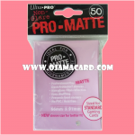 Ultra•Pro Pro-Matte Standard Deck Protector / Sleeve - Pink 50ct.
