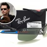 แว่นกันแดด RB 3183 TOP BAR 006/71 63-15 3P <โพลาไรซ์>
