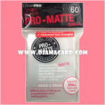 Ultra•Pro Pro-Matte Small Deck Protector / Sleeve - Clear x60