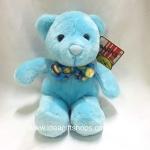 ตุ๊กตาหมีสีฟ้า Anee park ขนาด 10 นิ้ว