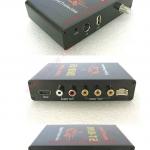 กล่องรับสัญญาณดิจิตอลทีวีรถยน์ (DVB-T2-4AV+1HDMI) มีเมนูภาษาไทย (maxspeed 60km/h)