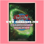 Yu-Gi-Oh! Shunen Jump TCG Duelist Card Protector / Sleeve - World Championship Qualifier Green (2013) 80ct.